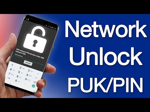 Fix SIM network PIN Blocked Enter SIM Network PUK - Unlock PUK & PIN for ANY Carrier in The World
