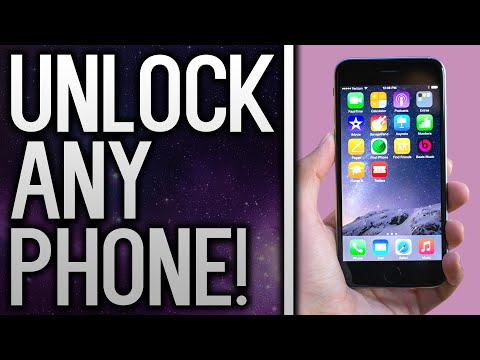How To Carrier Unlock ANY iPhone / Android Phone To Use With Any Network!