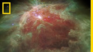 Fly Through a Star-Studded Nebula In a New 3-D Visualization | National Geographic
