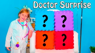 PJ MASKS Disney Assistant Doctor Surprise with Peppa Pig and Wiggles in Real Life