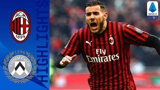 Milan 3-2 Udinese | Rebic fa esplodere San Siro, Europa di nuovo nel mirino | Serie A TIM