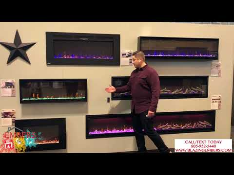 Napoleon Electric Fireplace Series overview what is the difference?