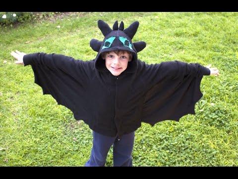 Homemade Toothless Costume