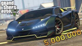 قراند 5 : تعديل سيارات لامبورغيني بقيمة 5 مليون دولار