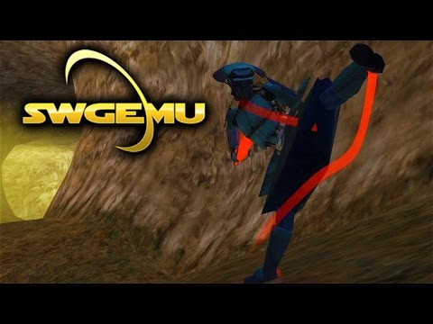 SWGEMU - Teras Kasi Master and RIS Armor (Star Wars Galaxies Gameplay Basilisk Server)