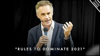 """""""42 RULES TO DOMINATE THIS YEAR"""" (simple rules for improving yourself) - Jordan Peterson Motivation"""