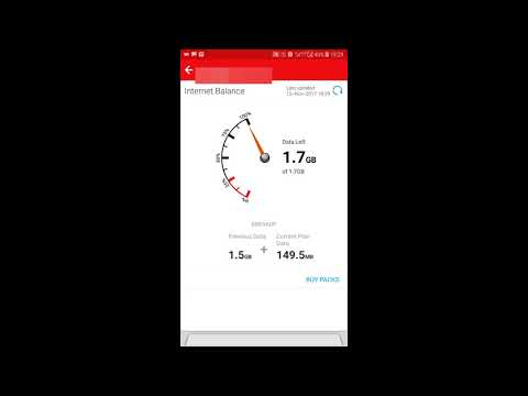 How to check 4g net balance in Airtel|My Airtel App|Free internet airtel