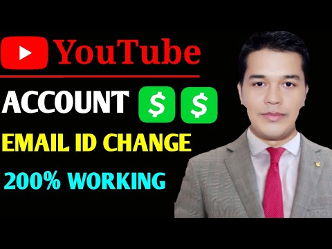 how to change email address of youtube channel ( Change Email Id In Youtube Channel )