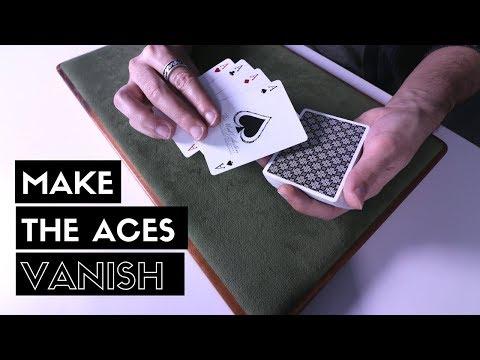 Make all 4 Aces VANISH | Card Trick Tutorial [HD]
