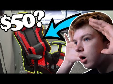 I bought the cheapest gaming chair on amazon...