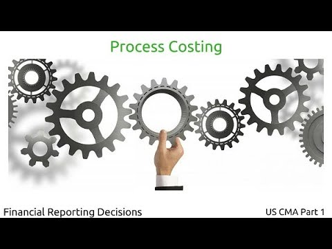 Process Costing | Financial Reporting Decisions| US CMA Part 1| US CMA course | US CMA Exam