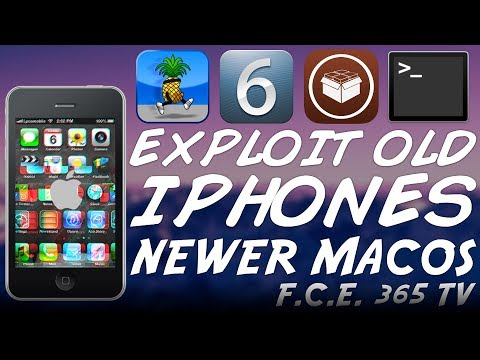 How to put older iPhones (4, 3GS, 3G) in PWNED DFU FOR CFW / JAILBREAK on Newer macOS