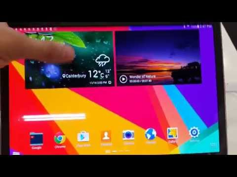 Samsung Tab 10.5 quick review and specifications