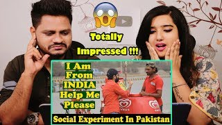 Indian Reaction On Indian Guy Asking Help From Pakistani People  Social Experiment
