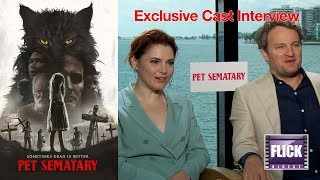 Download Jason Clarke and Amy Seimetz Talk To FlickDirect About Pet Sematary Video
