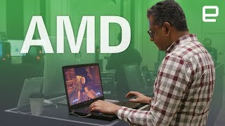 New AMD tech at CES 2018 first look
