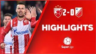 Crvena zvezda - Vojvodina 2:0, highlights