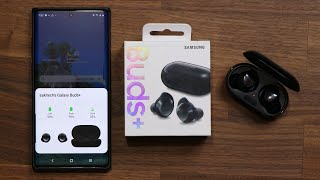 Samsung Galaxy Buds+ UNBOXING, Setup and REVIEW