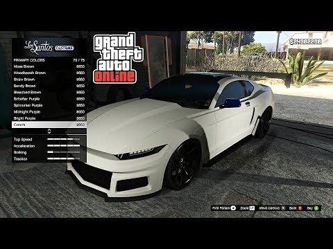 GTA 5 Vapid Dominator GTX Customization Gameplay! NEW GTA Online DLC Unreleased Cars