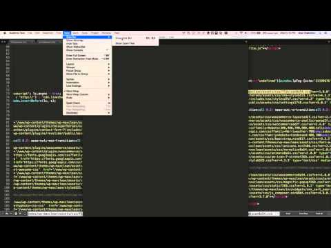 Compare 2 files in sublime text on MAC