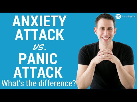 Anxiety Attack vs Panic Attack - What's The Difference?