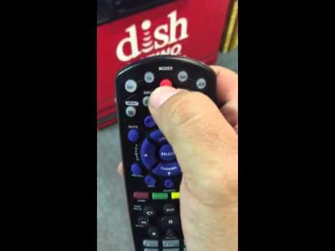 Programacion remote control dish