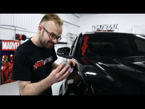 CRAZY! He Scratch his black truck with STEEL WOOL PADS! | Ultimate Paint Protection Film