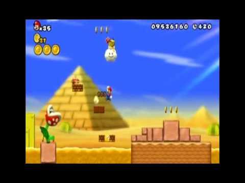 New Super Mario Bros. Wii - World 2-5 (All Star Coins)