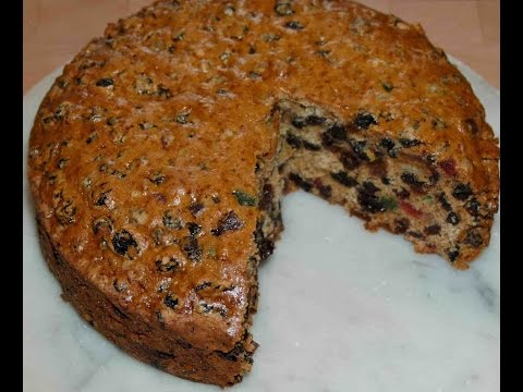 Recipe - Eggless Christmas Plum Cake
