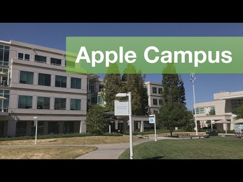 VISITING APPLE HEADQUARTERS CAMPUS! #GAAD