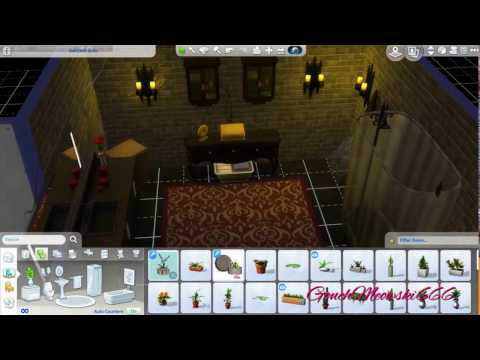 [The Sims 4] Speed Building part 1- Haunted Vampire Basement