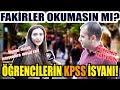 Download  Öğrencilerin KPSS Sınav Ücreti İsyanı! Gençlerin Umudu Tükeniyor - Sokak Röportajı MP3,3GP,MP4