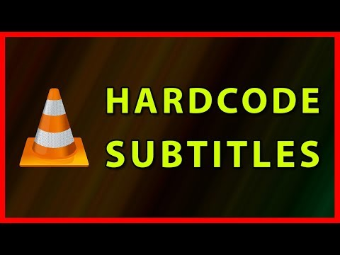 How to Hardcode subtitles in VLC Player - Tutorial