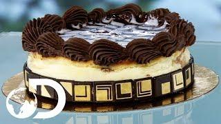 CHOCOLATE MARBLE TRUFFLE CAKE | How It