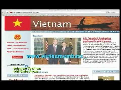 Vietnam Visa Instructions   how to apply for vietnam visa