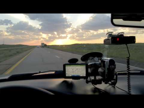 Los Angeles To Chicago - Time Lapse
