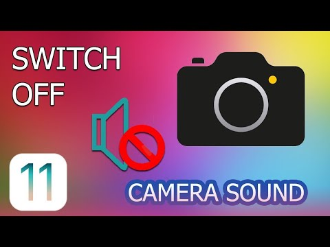 Remove Shutter Sound of IOS Camera - Tagalog sa Description