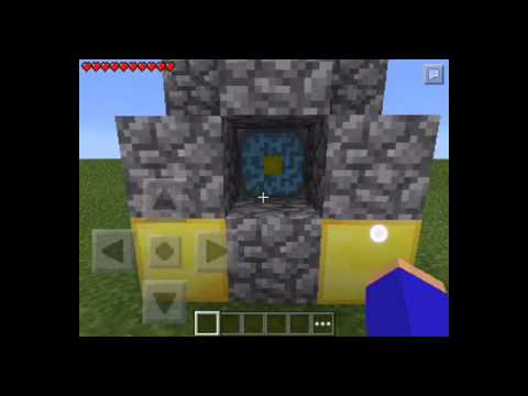 Gameplay minecraft pe 11.1 nether