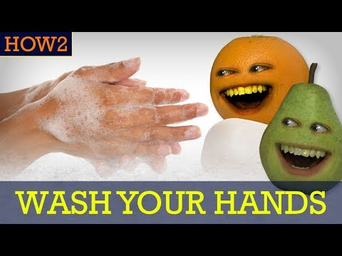 HOW2: How to Wash Your Hands!
