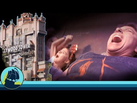 terrified on TOWER OF TERROR. not doing that again. Disney's Hollywood Studios.