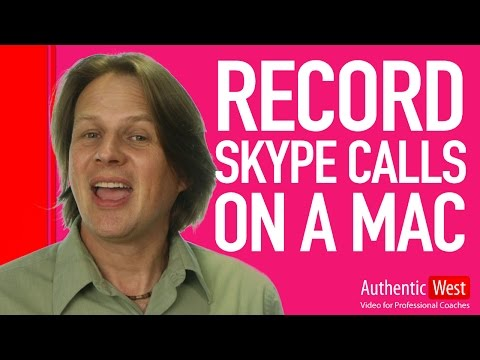 How to record Skype Calls on a Mac