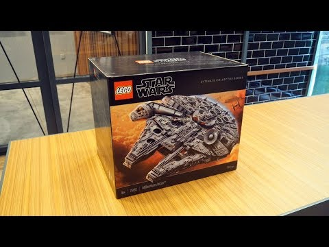 LEGO Star Wars Ultimate Collectors Series Millennium Falcon (75192) Unboxing