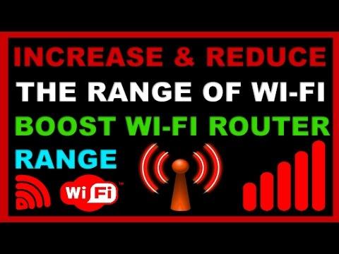 How to increase and reduce\decrease the range of Wi-Fi?Wifi ki range kaise badhate aur ghatate hain?