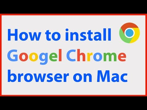 How to Install Google Chrome browser on a Mac