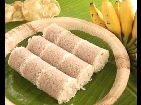 How to make Kerala Puttu -Home made Puttu podi