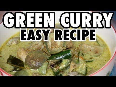 Thai Green Curry Chicken Recipe (แกงเขียวหวาน)