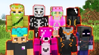 Fortnite Minecraft Skins Videos Ytubetv - Skins para minecraft pe de rock