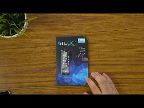NUGLAS Tempered Glass Screen Protector For iPod Touch 6th Gen   Unboxing & Application