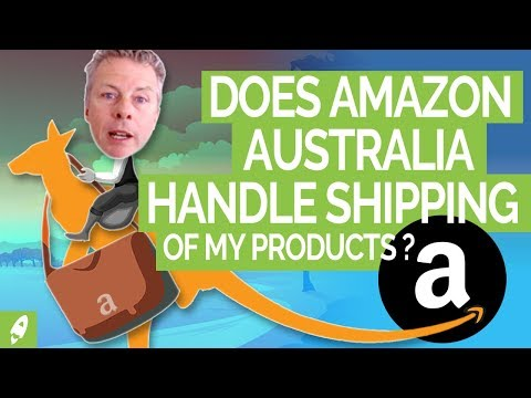Does Amazon Australia handle the shipping of my products?
