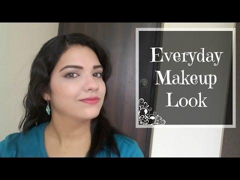 Everyday Natural Makeup Look   beautywithsneha
